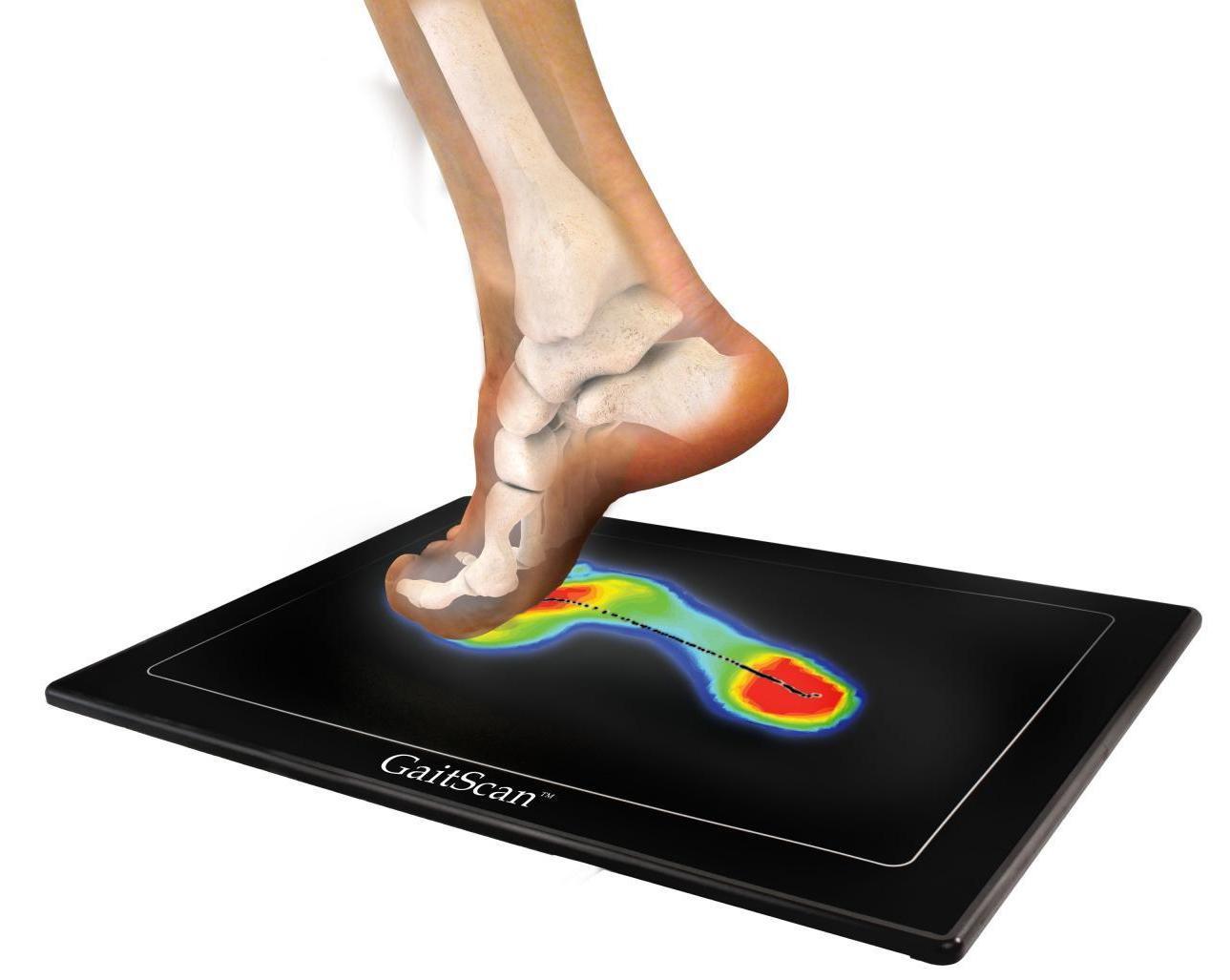 komputerowe badanie stóp