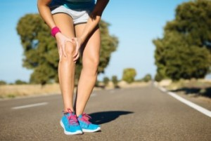 Runner training  knee pain
