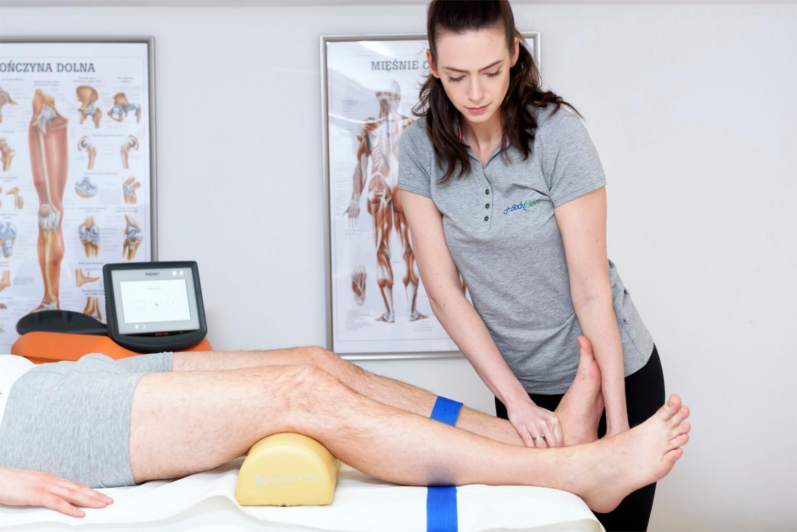rehabilitacja stopy warszawa